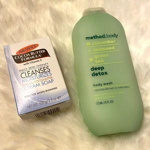 Body Duo: Method Bodywash & Cocoa Butter Body Bar